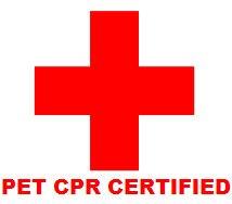 Pet CPR Certified
